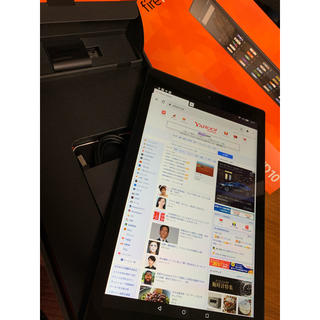 ANDROID - Amazon Fire HD 10 2015 第5世代 32GB 付属品完備