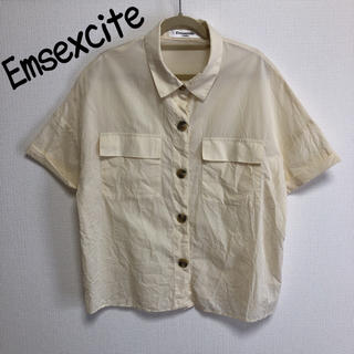 エムズエキサイト(EMSEXCITE)のEmsexcite 半袖シャツ(シャツ/ブラウス(半袖/袖なし))