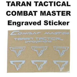 TARAN TACTICAL COMBAT MASTER ステッカー 1319r(カスタムパーツ)