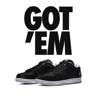 ナイキ(NIKE)のMEDICOM TOY NIKE SB DUNK LOW BE@RBRICK(スニーカー)