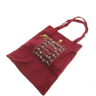 ミュウミュウ(miumiu)のミュウミュウ  エコバッグ 折りたたみバッグ(エコバッグ)