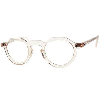 アヤメ(Ayame)のヴィンテージ クラウンパント フレッシュピンク クリア サングラス  眼鏡 (サングラス/メガネ)