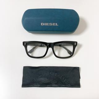 ディーゼル(DIESEL)のDIESEL メガネ DL5045 003 54-17 ブラック×マットブラック(サングラス/メガネ)