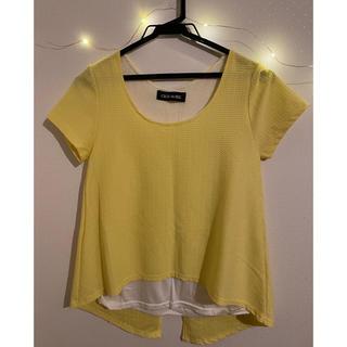 セシルマクビー(CECIL McBEE)のカットソー トップス (Tシャツ/カットソー(半袖/袖なし))