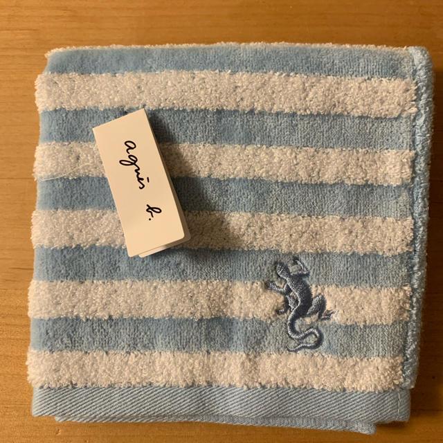 agnes b.(アニエスベー)のアニエスベー タオル地ハンカチ レディースのファッション小物(ハンカチ)の商品写真