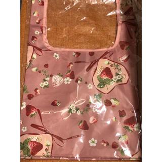 ピンクハウス(PINK HOUSE)のピンクハウス 可愛いいちご柄 エコバッグ 新品(エコバッグ)