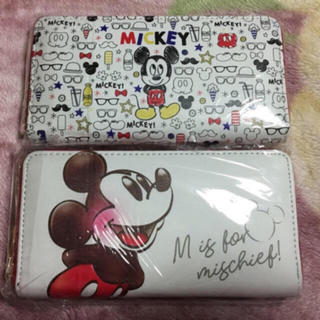 ディズニー(Disney)の【裏表あり】長財布2点セット(長財布)