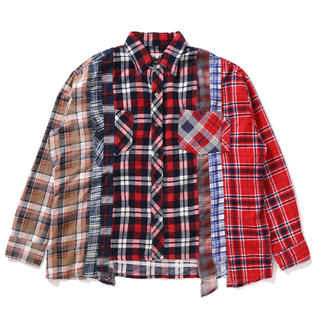 ニードルス(Needles)のNEEDLES Flannel Shirt -> 7 Cuts Shirt L(シャツ)