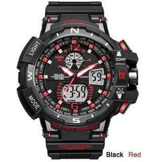 2020新入荷!■新品■ ビッグフェイス ダイバーズウォッチ赤(腕時計(デジタル))