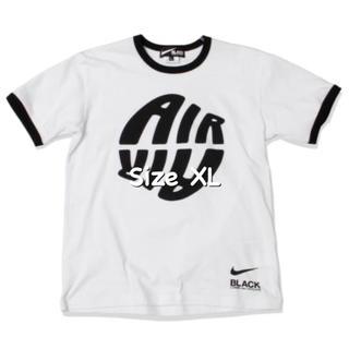 BLACK COMME des GARCONS - NIKE × BLACK COMME des GARÇONS リンガーTシャツ