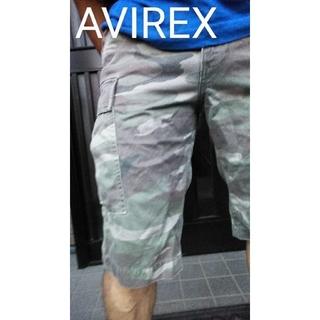 アヴィレックス(AVIREX)のAVIREX camouflage 迷彩柄ショートパンツハーフパンツ(ショートパンツ)