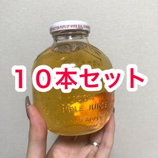 コストコ(コストコ)の10本セット マルティネリ 100% アップルジュース りんごジュース(ソフトドリンク)