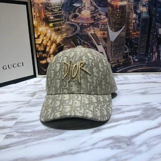 ディオール(Dior)のDior ディオール 大人気 刺繍 キャップ 帽子 男女兼用(キャップ)