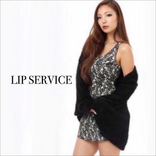 LIP SERVICE - LIP SERVICE レース フラワー ワンピース♡ムルーア リゼクシー