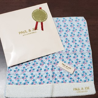 PAUL & JOE - 値下げ♪ポールアンドジョー 新品ハンカチ