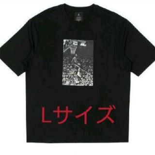 ナイキ(NIKE)のUNION JORDAN Tシャツ L 新品 black 黒(Tシャツ/カットソー(半袖/袖なし))