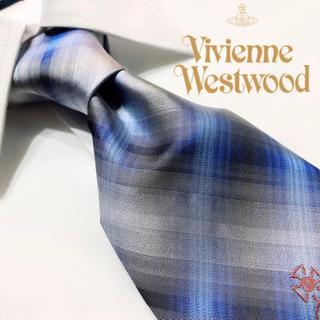 ヴィヴィアンウエストウッド(Vivienne Westwood)の【タグ付き新品!超人気ブランド!】VivienneWestwoodシルクネクタイ(ネクタイ)
