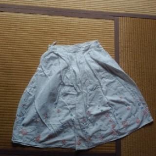サマンサモスモス(SM2)のehka sopo SM2スカート(ひざ丈スカート)