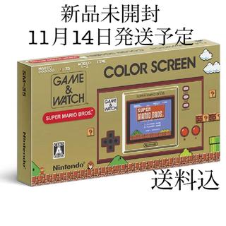 ニンテンドウ(任天堂)のゲーム&ウオッチ スーパーマリオブラザーズ 本体 11月14日発送予定 新品(携帯用ゲーム機本体)