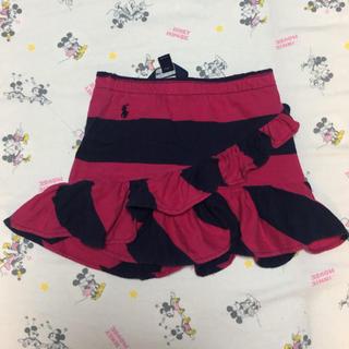 ポロラルフローレン(POLO RALPH LAUREN)のPolo Ralph Lauren キュロットスカート ベビー(スカート)