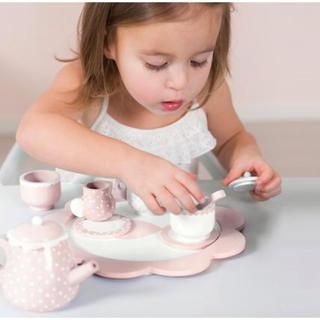 イケア(IKEA)の【LITTLE DUTCH】リトルダッチ  木のおもちゃ☆ティータイムセット(知育玩具)