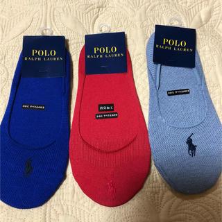 ラルフローレン(Ralph Lauren)のラルフローレン  レディース 靴下 22-24㎝ 新品未使用(ソックス)