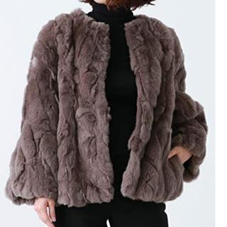 デミルクスビームス(Demi-Luxe BEAMS)のBEAMS 高級 ファーコート (毛皮/ファーコート)