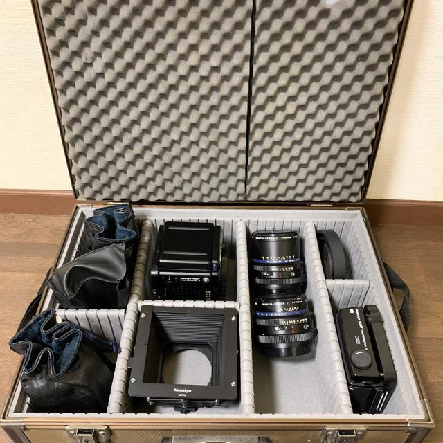 USTMamiya(マミヤ)の中判フィルムカメラ MAMIYA RZ67 proⅡ スマホ/家電/カメラのカメラ(フィルムカメラ)の商品写真
