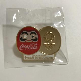 コカ・コーラ - 2021年東京オリンピック 1年前記念ピンバッチ