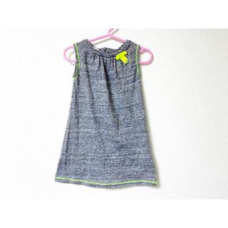 グッチ(Gucci)の美品 GUCCI グッチ キッズ 子供服 ワンピース 24 90cm グレー(ワンピース)