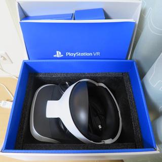 プレイステーションヴィーアール(PlayStation VR)の超美品 PSVR カメラ付き(家庭用ゲーム機本体)