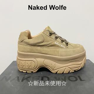 バレンシアガ(Balenciaga)の新品! Naked Wolfe 厚底スニーカー アリアナグランデ 着用(スニーカー)