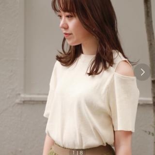 ローズバッド(ROSE BUD)のROSE BUD ローズバッド 肩あき カットソー(Tシャツ(半袖/袖なし))