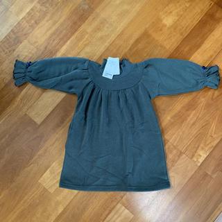 グリーンレーベルリラクシング(green label relaxing)のグリーンレーベル 105cm 裏起毛ワンピース(ワンピース)