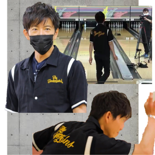 テンダーロイン(TENDERLOIN)の新品 木村拓哉さん着用 ボーリングシャツ サイズL 黒(シャツ)