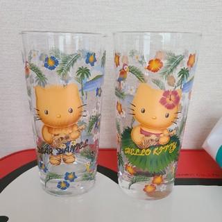 サンリオ(サンリオ)の日焼けキティ ペアグラス(グラス/カップ)