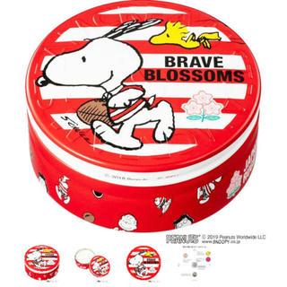 スチームクリーム(STEAM CREAM)のスチームクリーム×スヌーピー×ラグビー日本代表限定デザイン缶(ボディクリーム)
