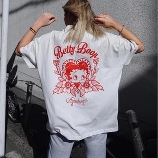 フィグアンドヴァイパー(FIG&VIPER)のfigviper Betty ベティ コラボビックTシャツ (Tシャツ(半袖/袖なし))