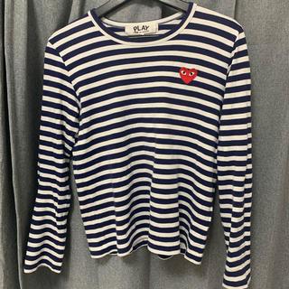 コムデギャルソン(COMME des GARCONS)のコムデギャルソン ボーダーロンT(Tシャツ(長袖/七分))