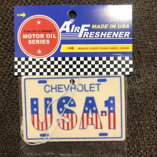 シボレー(Chevrolet)のレーシングエアフレッシュナー【CHEVROLET USA-1】(車内アクセサリ)