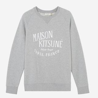 メゾンキツネ(MAISON KITSUNE')のMAISON KITSUNE メゾンキツネ  スウェット トレーナー グレー(スウェット)