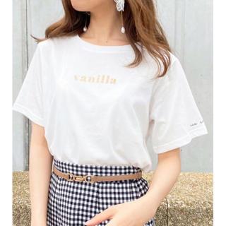 スナイデル(snidel)のぱくぱくアイスクリームTシャツ(Tシャツ(半袖/袖なし))