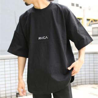 ルーカ(RVCA)のRVCA ルーカ (アーチロゴ Tシャツ) Lサイズ(Tシャツ/カットソー(半袖/袖なし))