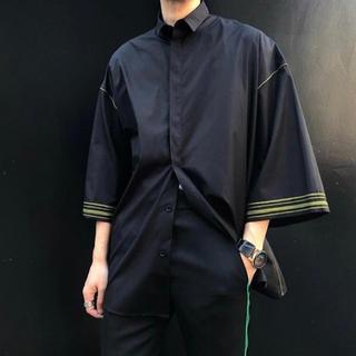ハイダーアッカーマン(Haider Ackermann)の【HAIDER ACKERMANN】ワイドスリーブシャツ七分袖(シャツ)