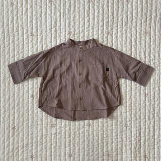 ザラキッズ(ZARA KIDS)のteteatete テータテート バンドカラーシャツ(シャツ/カットソー)