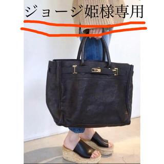 ドゥーズィエムクラス(DEUXIEME CLASSE)のSITA PARANTICA レザートートbag(トートバッグ)