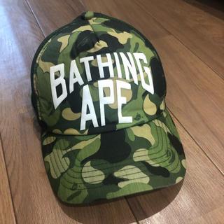 A BATHING APE - abathingape bape カモキャップ