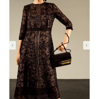 フレイアイディー(FRAY I.D)のFRAY ID ドレス黒(ミディアムドレス)