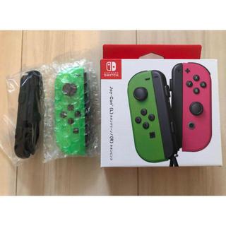 ニンテンドースイッチ(Nintendo Switch)の新品未使用 switch Joy-Con ネオングリーン(L) 左 緑(家庭用ゲーム機本体)