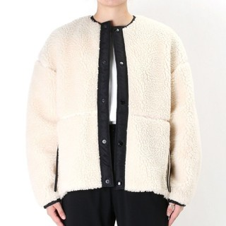 ハイク(HYKE)のHYKE*FAUX SHEARLING JACKET (ブルゾン)